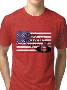 daisy marcela aquino usa flag Tri-blend T-Shirt