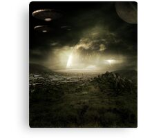 Space City Canvas Print