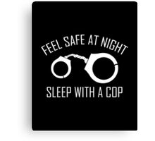 Feel Safe At Night Canvas Print