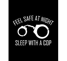 Feel Safe At Night Photographic Print