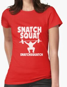 Crossfit snatch squat snatchsquatch geek funny nerd T-Shirt