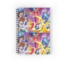 Sailor Scouts Spiral Notebook