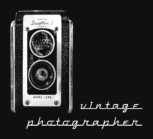 vintage photographer  by Rosemary Scott