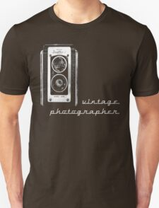 vintage photographer  Unisex T-Shirt