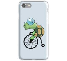 Turtle Likes to Ride. iPhone Case/Skin