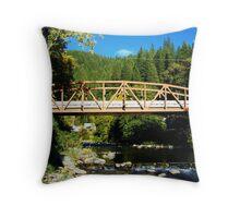 Bridge Over The Yuba River Throw Pillow
