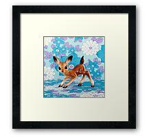 Bambi Love Framed Print