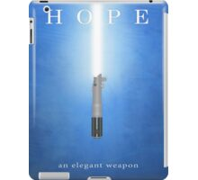 Hope, An Elegant Weapon iPad Case/Skin