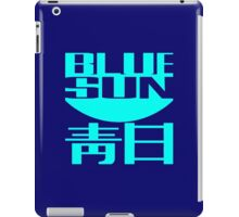 Firefly: Blue Sun for Dark Backgrounds iPad Case/Skin