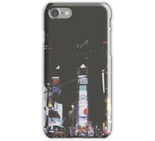 Times Square at Night iPhone Case/Skin