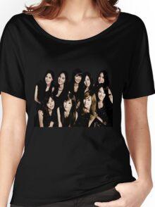 girls generation/snsd - black soshi Women's Relaxed Fit T-Shirt
