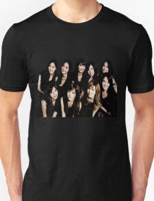 girls generation/snsd - black soshi Unisex T-Shirt