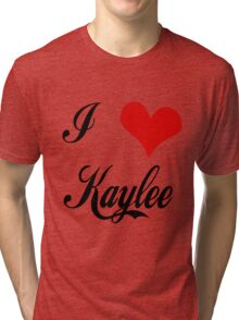 Firefly: I love Kaylee Tri-blend T-Shirt