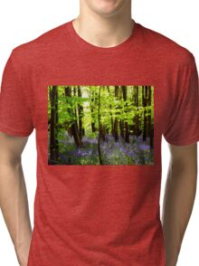 The Enchantment of Bluebells Tri-blend T-Shirt
