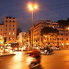 Rome at Night by Kent Nickell