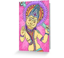 New Yorker Spot Illustration: Ramayana Greeting Card