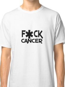 F ck cancer geek funny nerd Classic T-Shirt