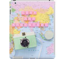 Love and Adventure iPad Case/Skin