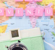 Love and Adventure Sticker
