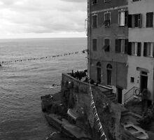 Riomaggiore by Kent Nickell