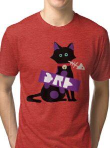 Splatoon Cat Tri-blend T-Shirt