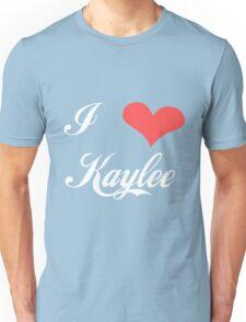 Firefly: I Heart Kaylee for Dark Backgrounds Unisex T-Shirt