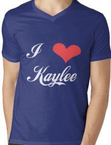 Firefly: I Heart Kaylee for Dark Backgrounds Mens V-Neck T-Shirt