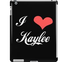Firefly: I Heart Kaylee for Dark Backgrounds iPad Case/Skin