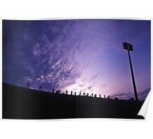 Olympic Stadium Sunrise Poster