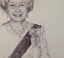 QUEEN ELIZABETH by Billy Jackson