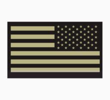 AMERICAN ARMY, Soldier, American Military, Arm Flag, US Military, IR, Infrared, Reflective, USA, Flag Kids Clothes
