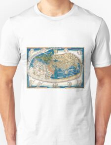 4th edition of Ptolemy's Cosmographia  by Leinhart Holle, dated 1482 T-Shirt