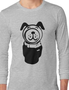 Fisher price little people vintage retro dog geek funny nerd Long Sleeve T-Shirt