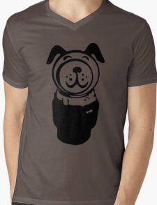 Fisher price little people vintage retro dog geek funny nerd Mens V-Neck T-Shirt