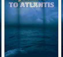 A Journey To Atlantis e-book Cover Art by Vanessa Barklay