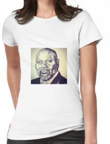 BISHOP T.D. JAKES PORTRAIT Womens Fitted T-Shirt