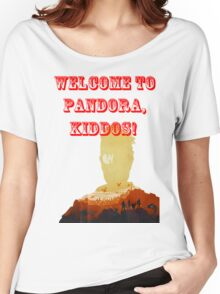 Welcome to pandora Women's Relaxed Fit T-Shirt