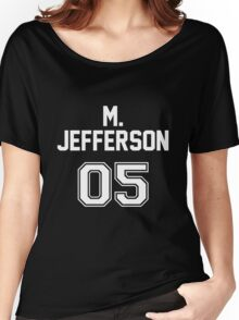 Mark Jefferson Jersey Women's Relaxed Fit T-Shirt
