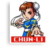 Chun-Li (MM) Canvas Print