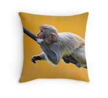 Chewing Throw Pillow