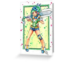 Arcade Riven Greeting Card