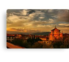 A View From My Room Canvas Print