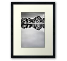 Minimal Watson Framed Print