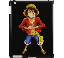 one piece straw hat monkey d luffy anime manga shirt iPad Case/Skin