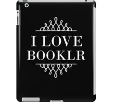 I Love Booklr iPad Case/Skin