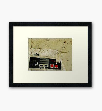 Industrial NES Framed Print
