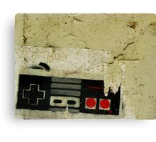 Industrial NES Canvas Print