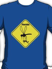 Florida state bird the mosquito geek funny nerd T-Shirt