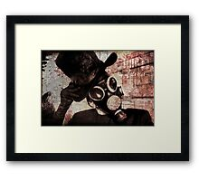 Tip of the Hat Framed Print