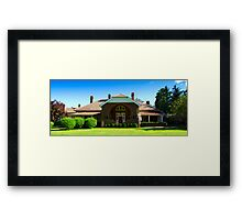 Petersons Guesthouse, Armidale Framed Print